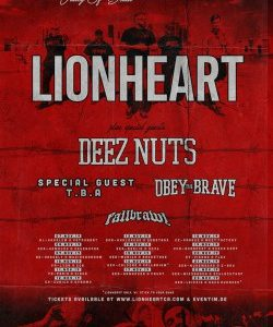 Deez Nuts Tourplakat 2019
