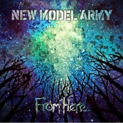 New Model Army, From Here Albumartwork