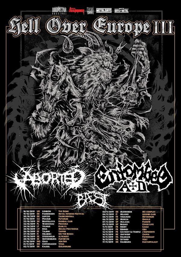 Hell Over Europe III Tourdaten 2019