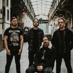 Black Peaks Bandfoto 2019