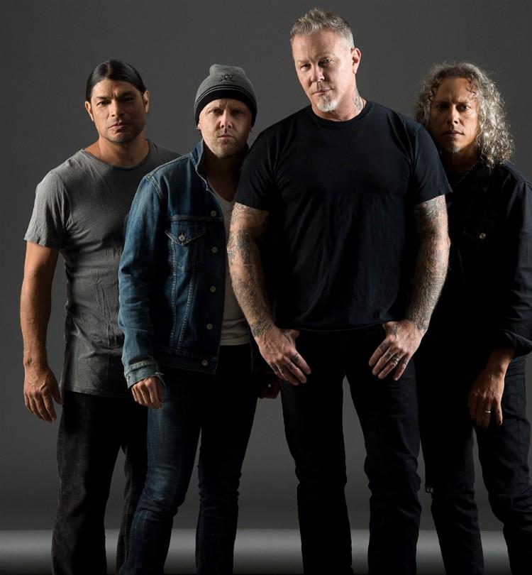 Metallica Band 2018 Ross Halfin