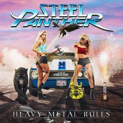 Steel Panther - Heavy Metal Rules Coverartwork