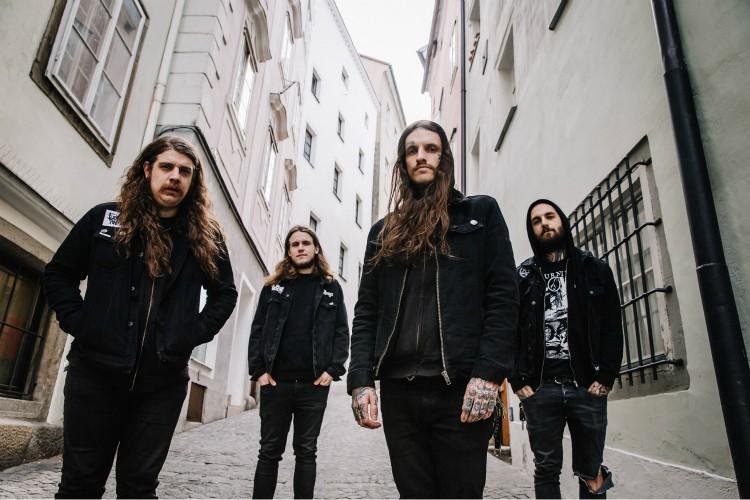Implore-Bandfoto-2019 zu Alienated Despair