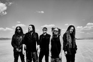 Korn Bandfoto 2019 von Jimmy Fontaine