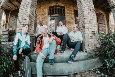 Hippie Trim Bandfoto von Simon Veith