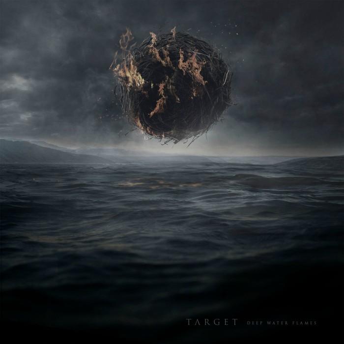 Target Deep Water Flames Artwork groß