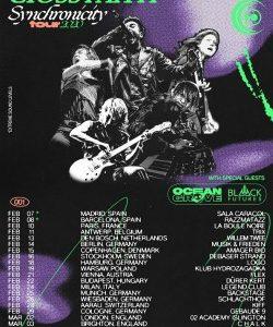 Teaser_Crossfaith Ocean Grove und Black Futures Tour 2020