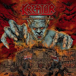 Kreator - London Apocalypticon - Live at the Roundhouse Artwork