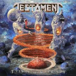 Testament -Titans Of Creation - Artwork
