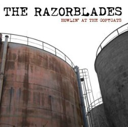 The Razorblades Howlin At The Copycats Artwork