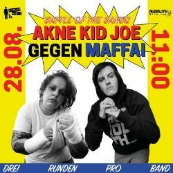 Akne Kid Joe boxen mit Maffai