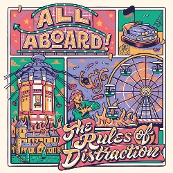 All Aboard! - The Rules of Distraction - Frontcover