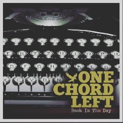 One Chord Left Typewriter Beat Artwork