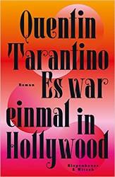 Quentin Tarantino Es war einmal in Hollywood Artwork