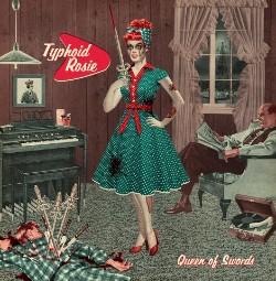 Typhoid Rosie Queens Of Swords Artwork