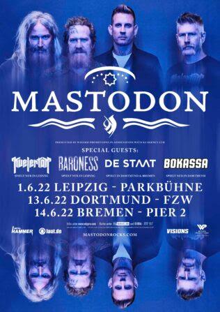 Mastodon Tour 2022